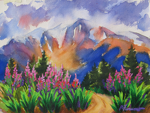 Fireweed - Crater  Mountain